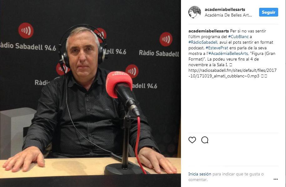 """http://esteveprat.cat/wp-content/uploads/30-Ràdio-Sabadell-94.6-CubBlanc-a-Ràdio-Sabadell-–-Acadèmia-de-Belles-Arts-de-Sabadell-""""Figura-Gran-Format""""-Ràdio-Sabadell-171019_almati_cubblanc-0.jpg"""