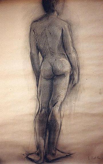 esteve-prat-paz-dibuixant-carbonet-pintor-oli-acrilic-bibliogradia-exposicions-critica-02-1980-carbonet-sobre-paper-140x75cm