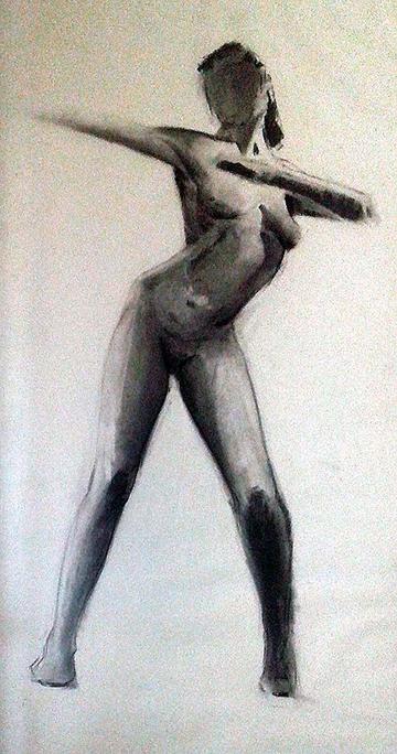 esteve-prat-paz-dibuixant-carbonet-pintor-oli-acrilic-bibliogradia-exposicions-critica-03-1981-carbonet-sobre-papaer-140x75-cm