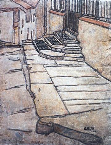 esteve-prat-paz-dibuixant-carbonet-pintor-oli-acrilic-bibliogradia-exposicions-critica-05-1987-fresc-17x23-cm