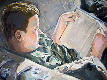 esteve-prat-paz-dibuixant-carbonet-pintor-oli-acrilic-bibliogradia-exposicions-critica-08-2003-retrat-m.p.-oli-sobre-fusta-46x38-cm