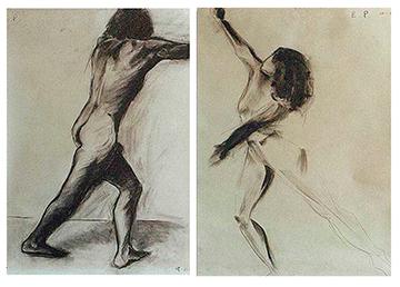 esteve-prat-paz-dibuixant-carbonet-pintor-oli-acrilic-bibliogradia-exposicions-critica-09-1981-carbonet-sobre-paper