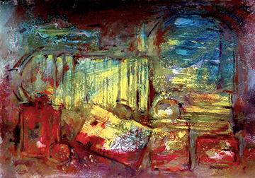 esteve-prat-paz-dibuixant-carbonet-pintor-oli-acrilic-bibliogradia-exposicions-critica-19-2015-Tecnica-mixta-sobre-paper-50X35-cm