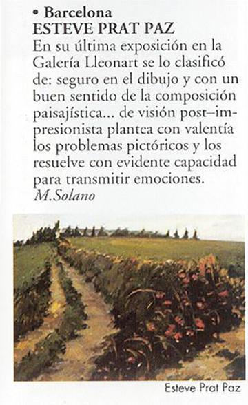 esteve-prat-paz-dibuixant-carbonet-pintor-oli-acrilic-bibliogradia-exposicions-critica-1995-revistart
