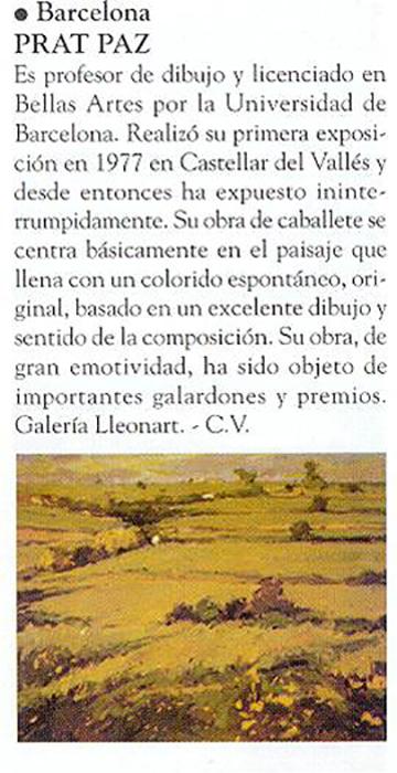 esteve-prat-paz-dibuixant-carbonet-pintor-oli-acrilic-bibliogradia-exposicions-critica-1997-revistart