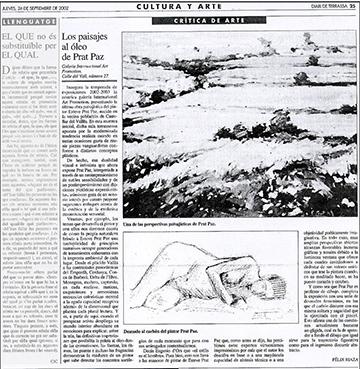 esteve-prat-paz-dibuixant-carbonet-pintor-oli-acrilic-bibliogradia-exposicions-critica-2002-diari-terrassa