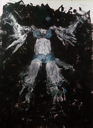 esteve-prat-paz-dibuixant-carbonet-pintor-oli-acrilic-bibliogradia-exposicions-critica-30-2016-tecnica-mixta-sobre-paper-201x152-cm