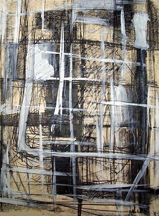 esteve-prat-paz-dibuixant-carbonet-pintor-oli-acrilic-bibliogradia-exposicions-critica-04-1979-tecnica-mixta-sobre-papaer-64x50-cm