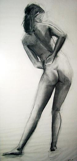 esteve-prat-paz-dibuixant-carbonet-pintor-oli-acrilic-bibliogradia-exposicions-critica-04-1981-carbonet-sobre-paper-140x75cm