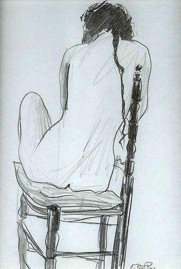 esteve-prat-paz-dibuixant-carbonet-pintor-oli-acrilic-bibliogradia-exposicions-critica-11-1987-llapis-sobre-pape