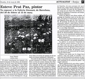 esteve-prat-paz-dibuixant-carbonet-pintor-oli-acrilic-bibliogradia-exposicions-critica-1995-forja